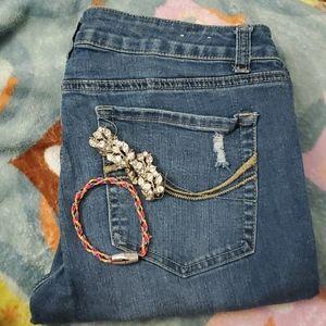 Jeans and 2 bracelets